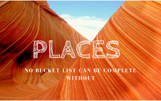 Places that must visit