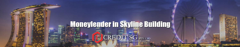 Moneylender in Skyline Building